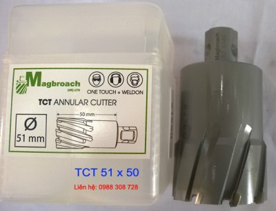 Mũi khoan từ TCT 51mm