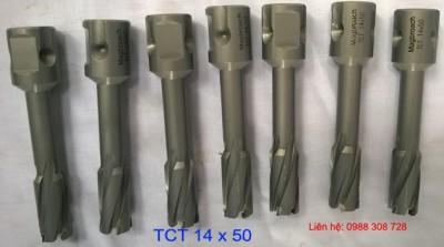 Mũi khoan từ hợp kim phi 14mm cắt sâu 50mm