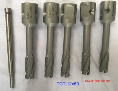 mũi khoan hợp kim TCT 12x50